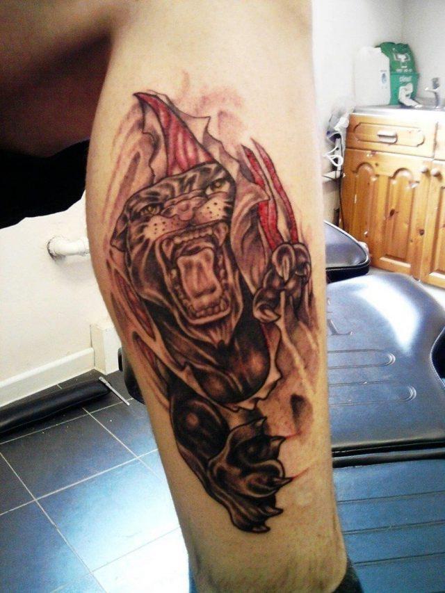Rip Skin Tattoos