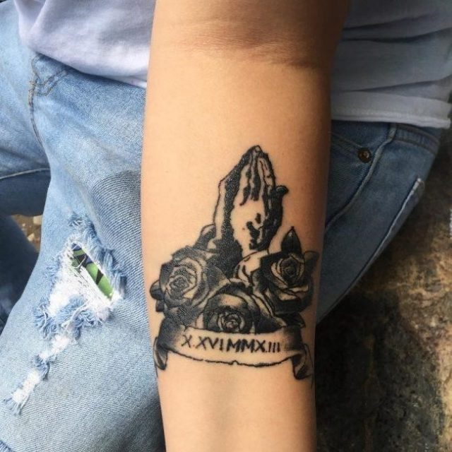 Roman Numeral Tattoo 60 650×650