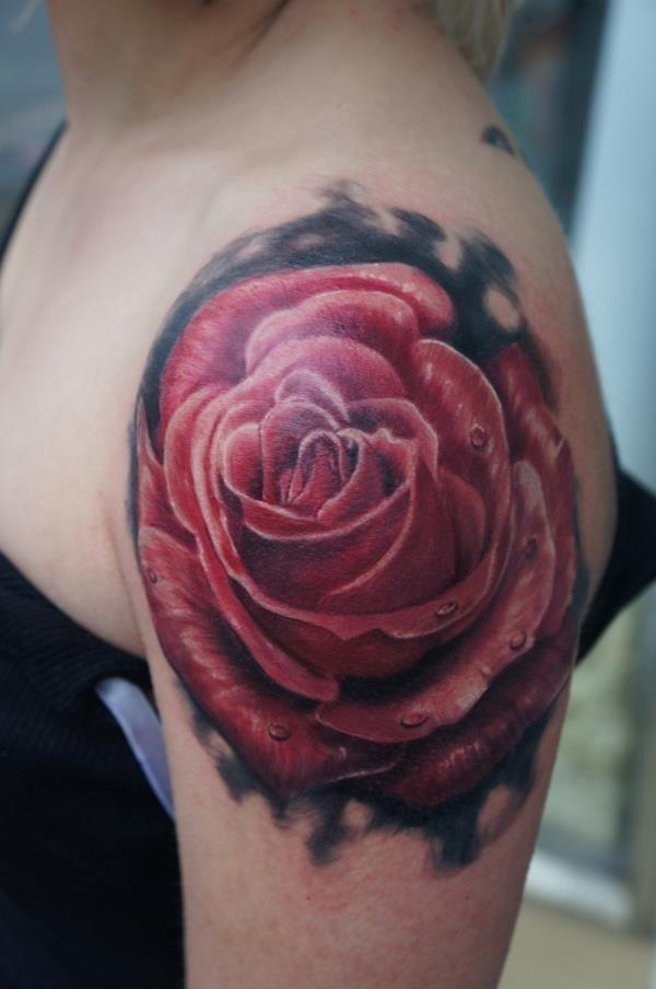 Rose Tattoos 28