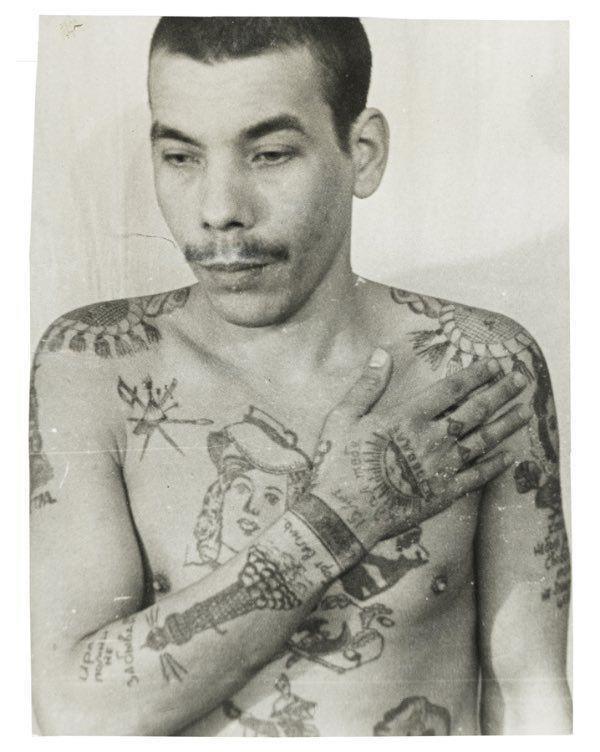Russian Criminal Tattoos © Arkadiy Bronnikov 10
