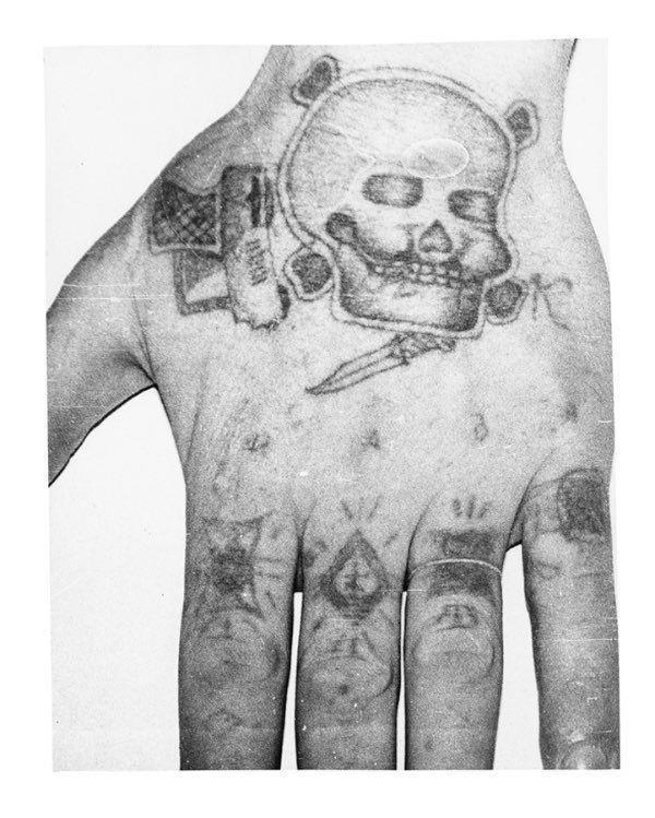 Russian Criminal Tattoos © Arkadiy Bronnikov 6