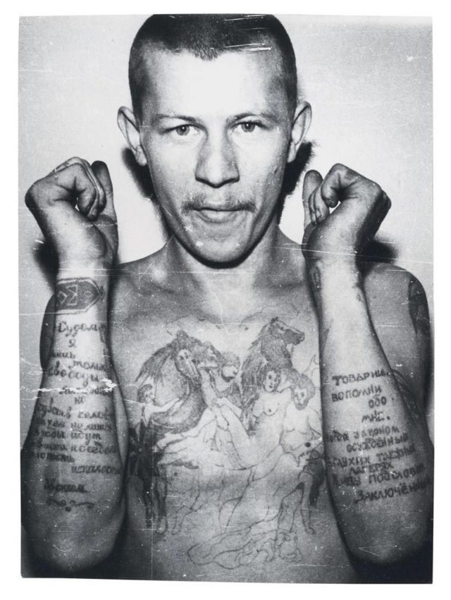 Russian Criminal Tattoos AnOtherMag