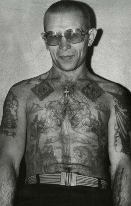 Russian Prison Tattoo Christ On Chest 427×670