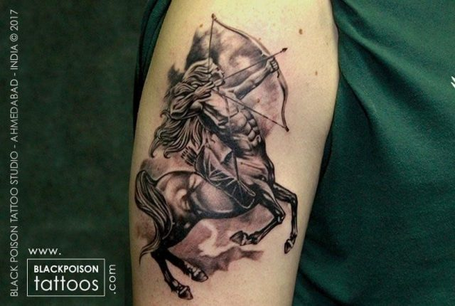 Sagittarius Sign Tattoo