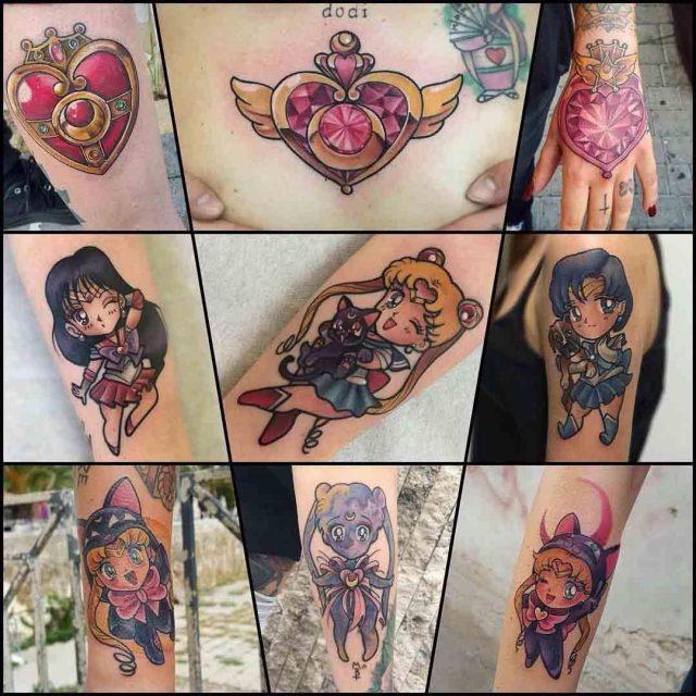 Sailor Moon Tattoo Designs by Korpus Domini