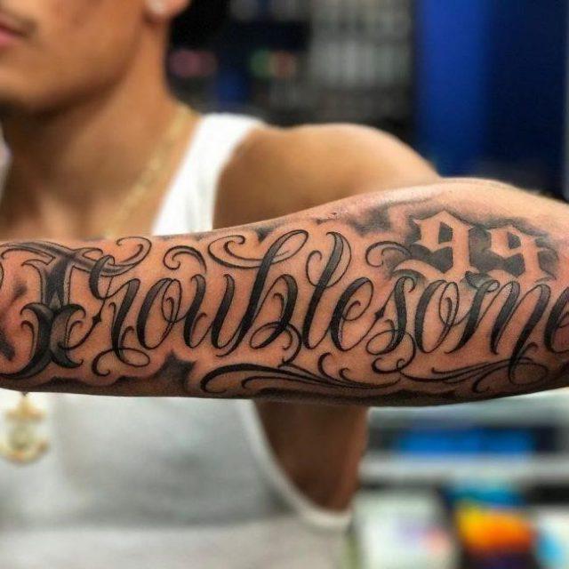 Script Tattoo 53 650×650