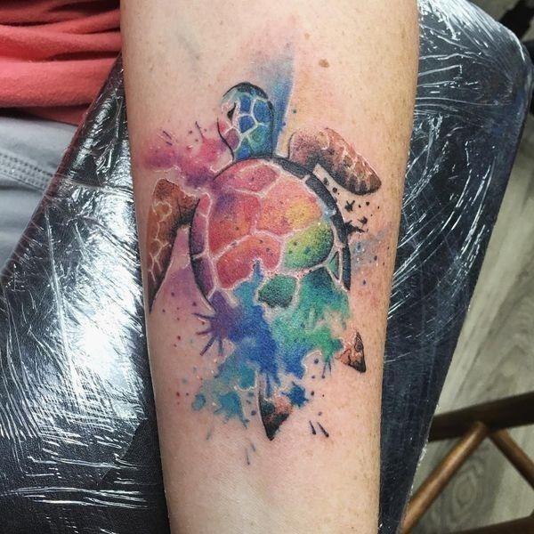 Sea turtle tattoos