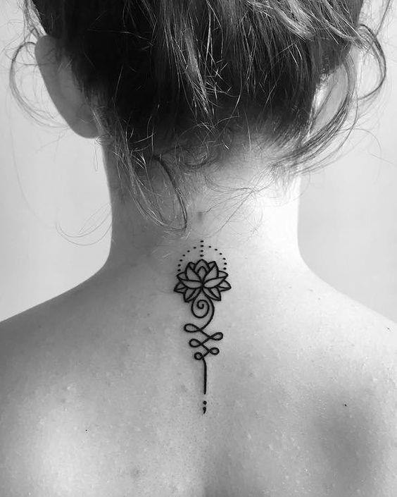 Semicolon Tattoo Designs 38
