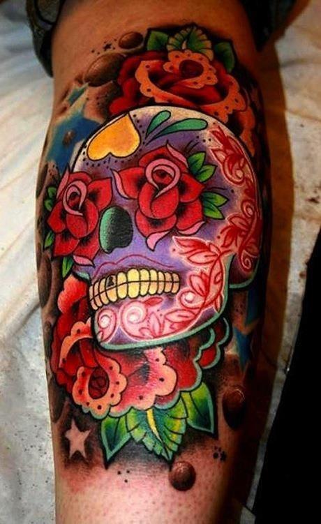 Skull Candy Tattoo