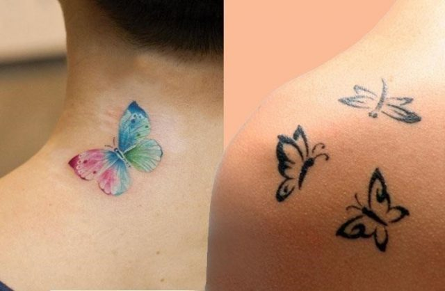 Small Butterfly Tattoo 1