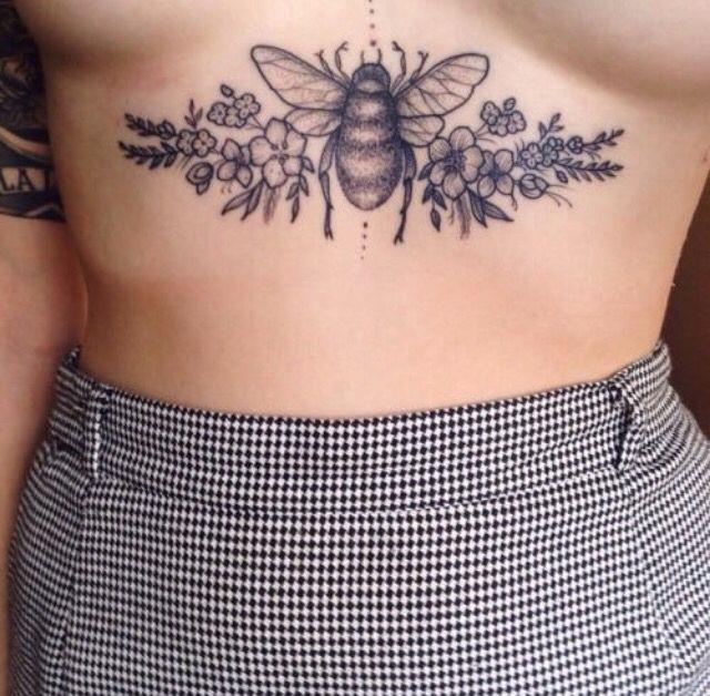 Sternum Tattoo Photos