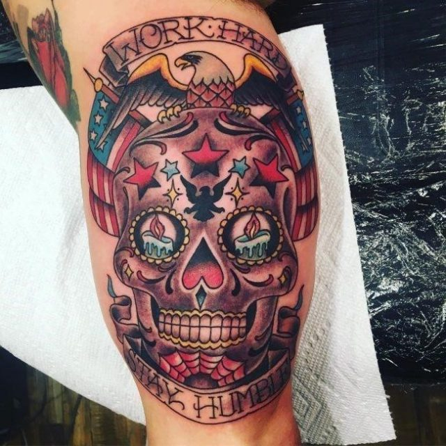 Sugar Skull Tattoo 106 650×650