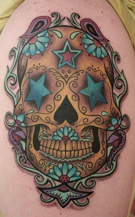 Sugar Skull Tattoos Images