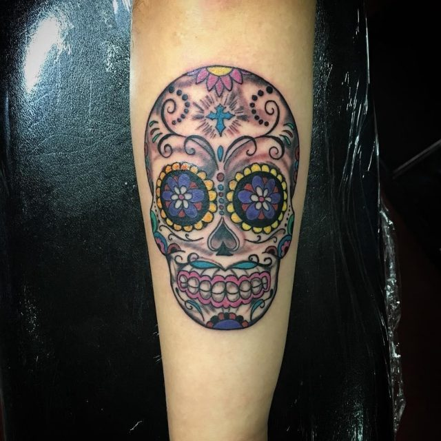 Sugar Skull Tattoos  27