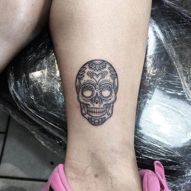Sugar Skull Tattoos  28