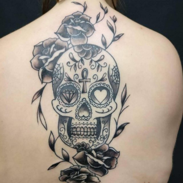 Sugar Skull Tattoos  34