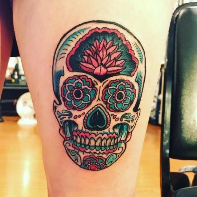 Sugar Skull Tattoos  42 650×650