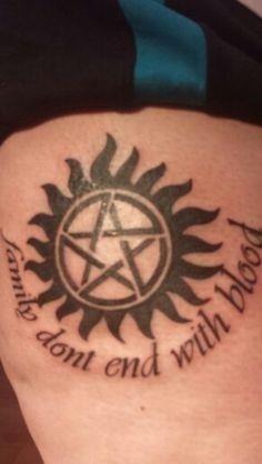 Supernatural Tattoos for Girls