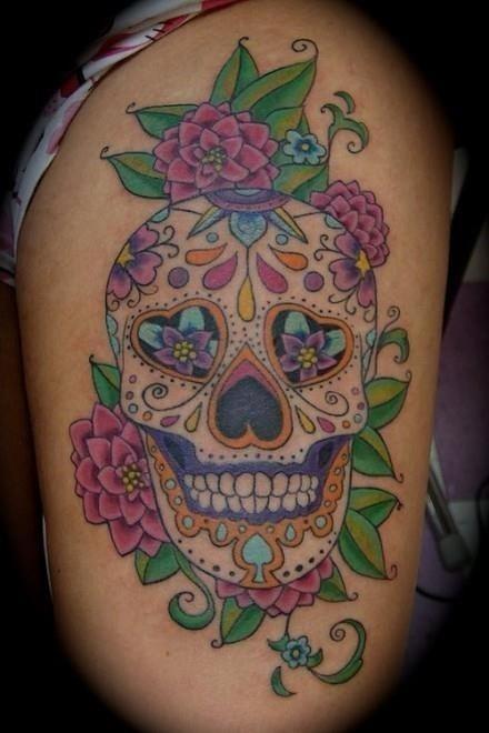 Tattoo Skull Candy