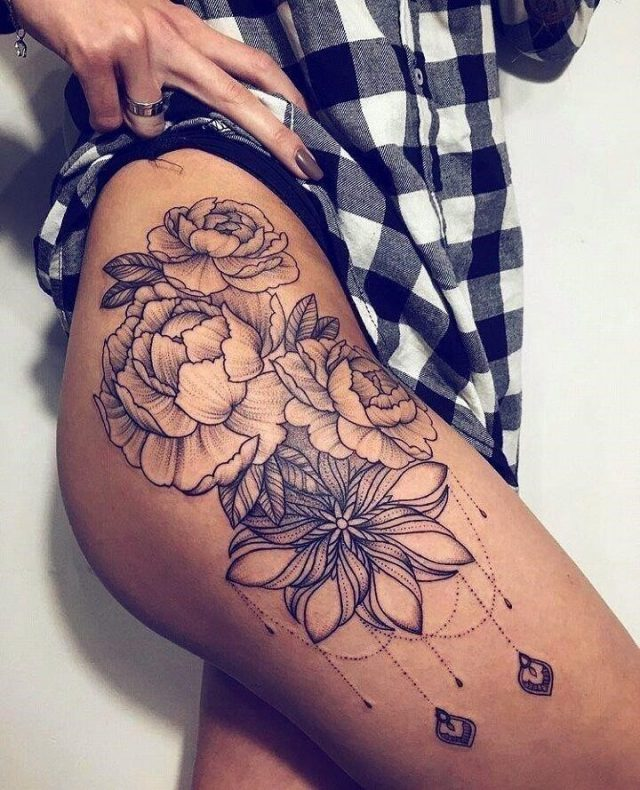 Thigh Tattoo Ideas for both men and women