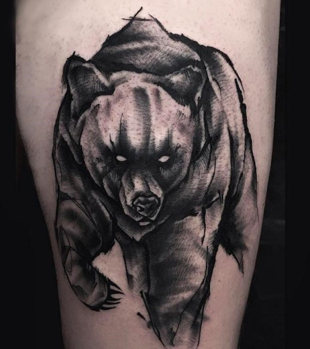 Top 10 Bear Tattoo Designs
