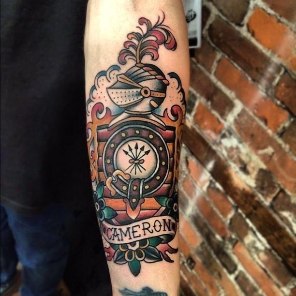 Traditional Half Sleeve Tattoo Designs