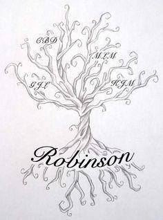 Tree Tattoo Image result for family tree tattoos with names
