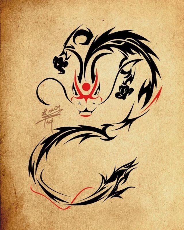 Tribal Dragon Ideas