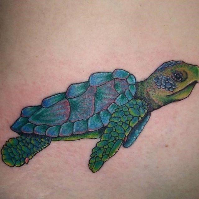 Turtle Tattoo  4 650×650