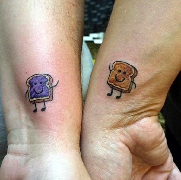 Unique Best Friend Tattoos 12