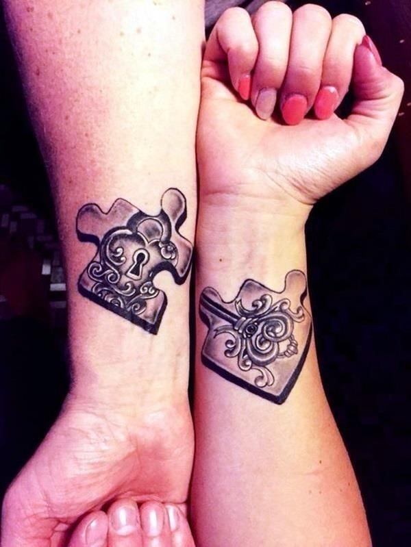 Unique Best Friend Tattoos57