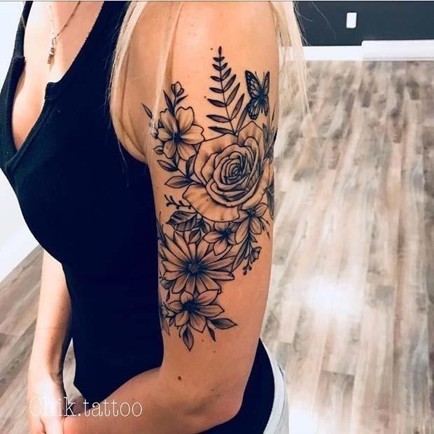 Upper Arm Tattoo Idea