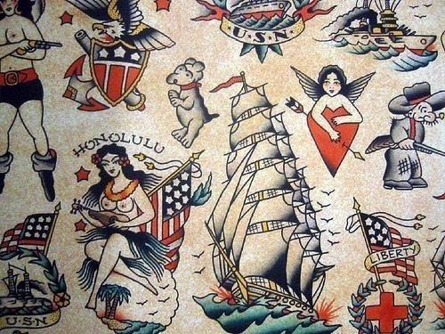 Vintage Tattoo Wallpaper 14