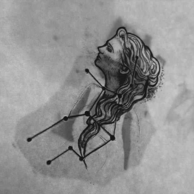 Virgo Tattoo  35