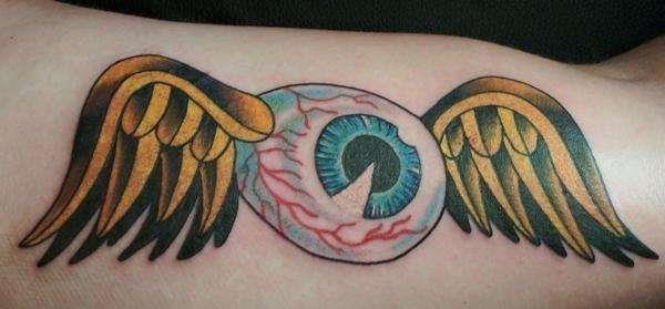 Von Dutch Eyeball tattoo 50273
