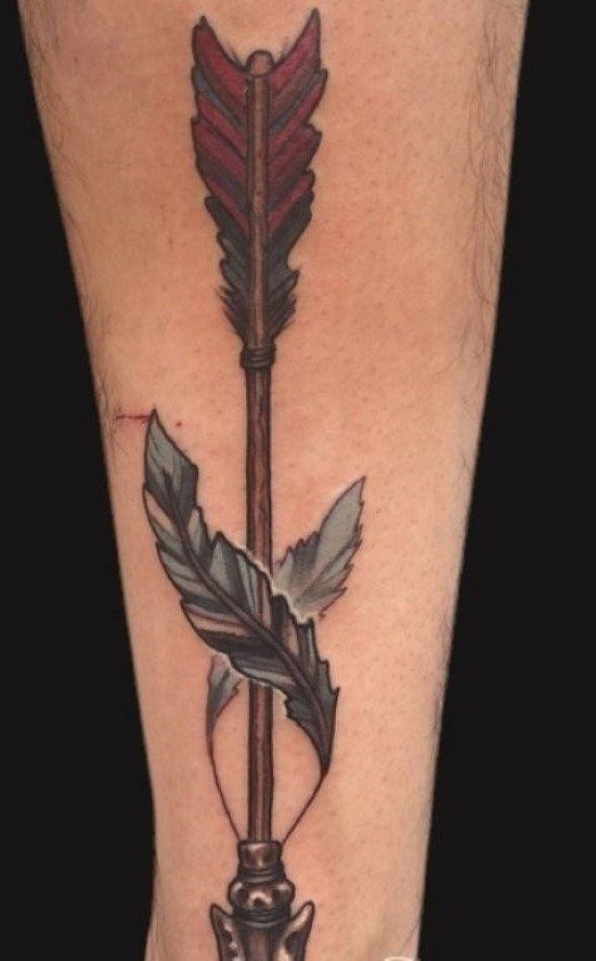 Wonderful Arrow Tattoo design TB1463