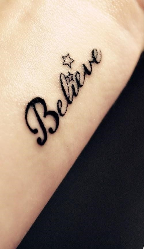 Word Tattoos 61