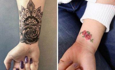 Wrist Tattoo Ideas for Women2 400×242