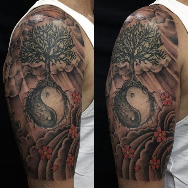 Yin Yang Tattoo 18