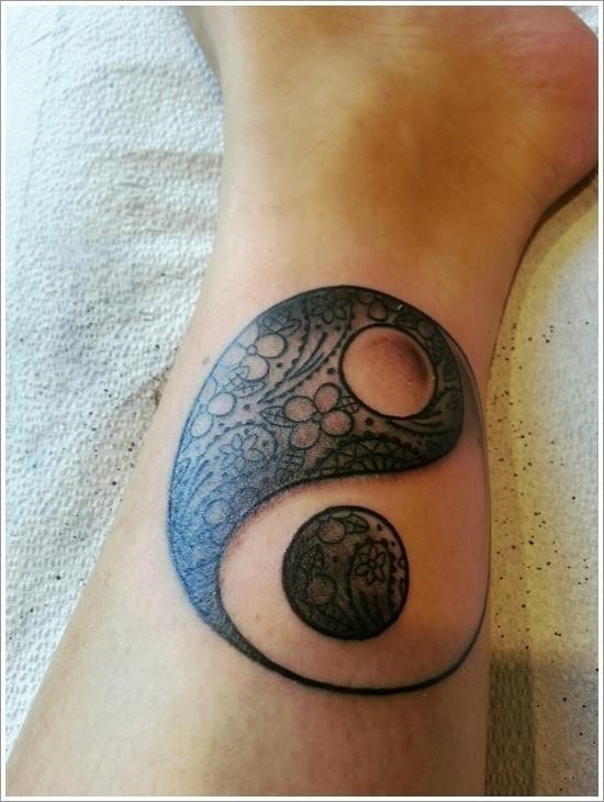 Yin Yang Tattoo Designs 29