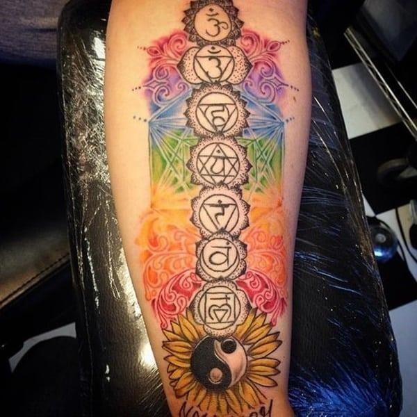 Yin Yang Tattoos 20