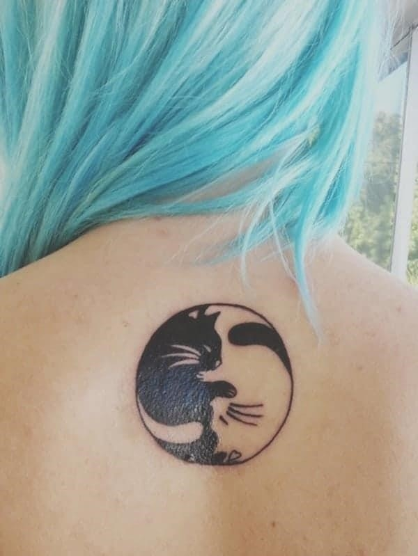 Yin Yang Tattoos 75