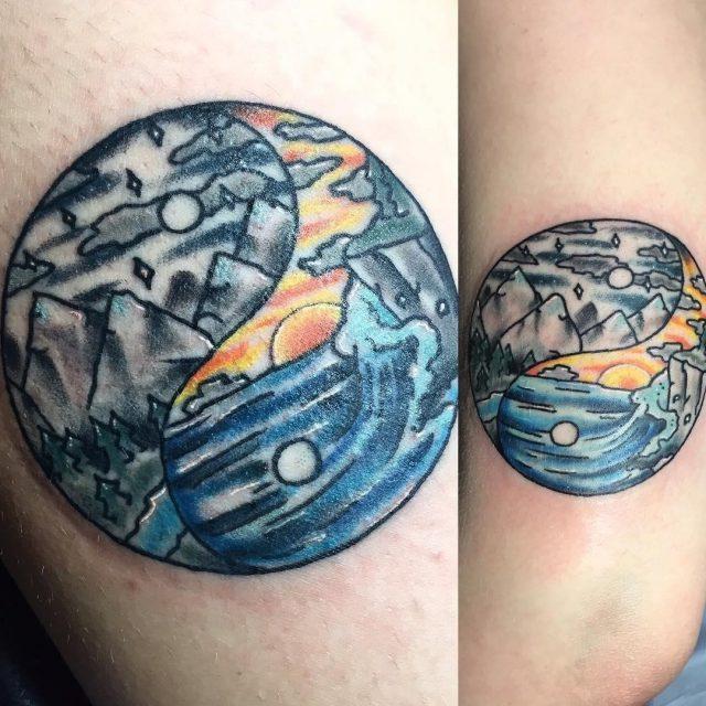 Yin Yang Tattoos  18