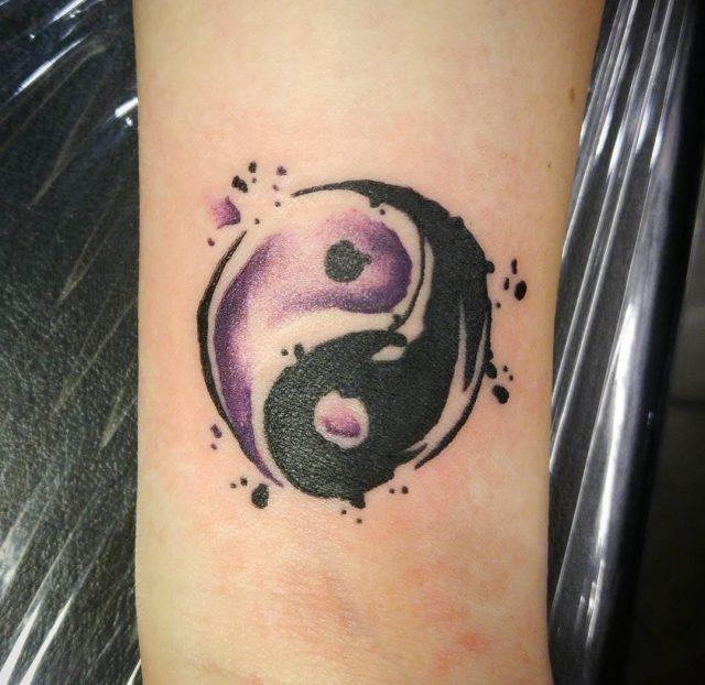 Yin Yang Tattoos  38