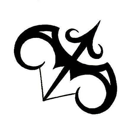 Zodiac Symbol Sagittarius Tattoo Design