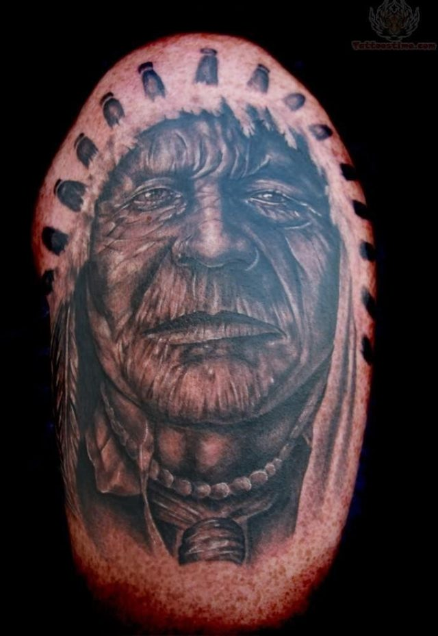 American native tattoo image