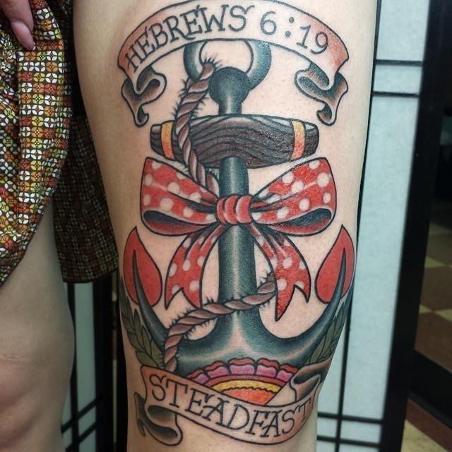 Anchor tattoo 25