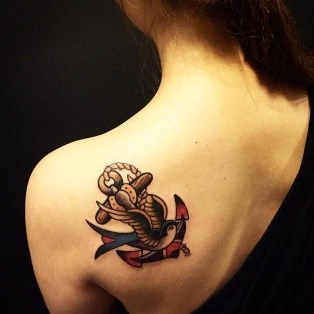 Anchor tattoo 43 650×650
