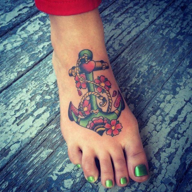 Anchor tattoo 44