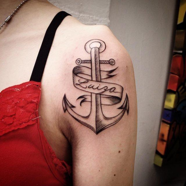 Anchor tattoo 49